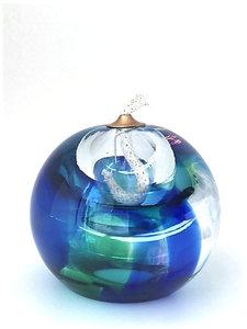 Olielampje Blauwgroen