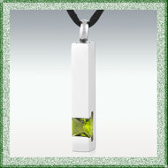 Assieraad-Cilinder-Vierkant-Strass-Peridot